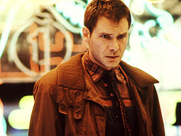BLADE RUNNER, Harrison Ford, 1982, (c) Warner Bros.