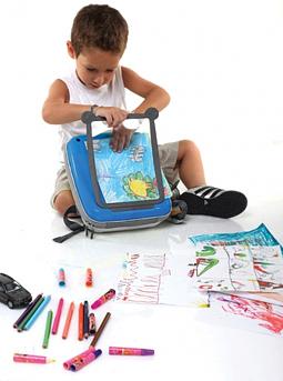 dětský batůžek GoVinci pro malé výtvarníky