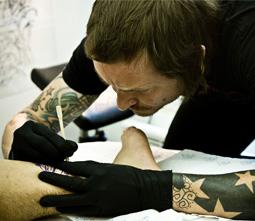 Michal Burda / majitel tetovacího studia