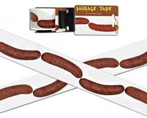 Lepicí páska pro vegetariány.