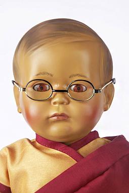 """""""Panenka"""" Dalailamy v podání Pupplenklinik."""